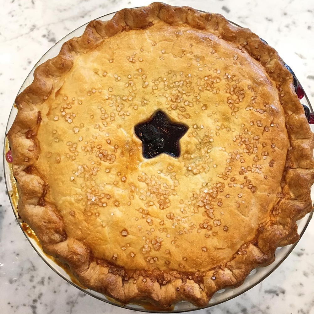 Sweets - Blueberry Pie